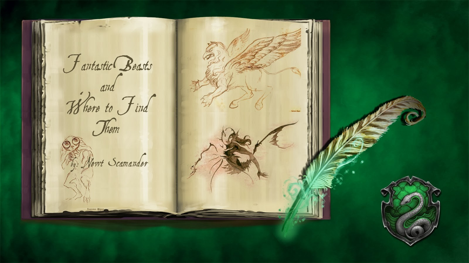 Pottermore BG Fantastic Beasts Slytherin By Xxtayce
