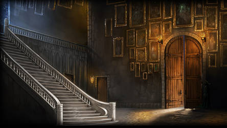 Pottermore: Great Hall Staircase