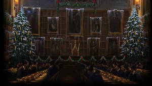 Pottermore Background: Great Hall at Christmas #2
