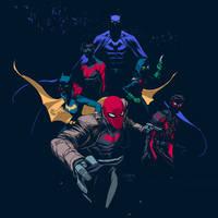Batfamily by Dan-Mora