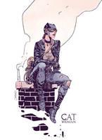Catwoman by Dan-Mora