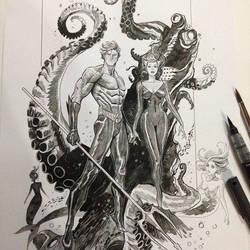 Aquaman by Dan-Mora
