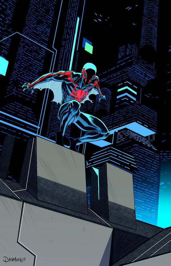 Spiderman 2099 by Dan-Mora