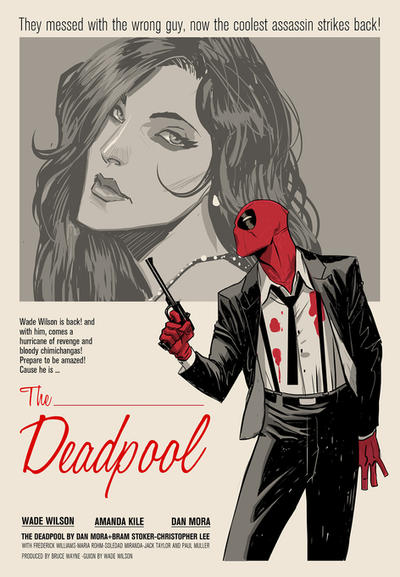 The deadpool by Dan-Mora