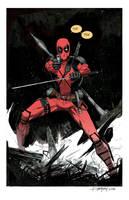 Deadpool by Dan-Mora