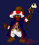 Toad as a Black Mage