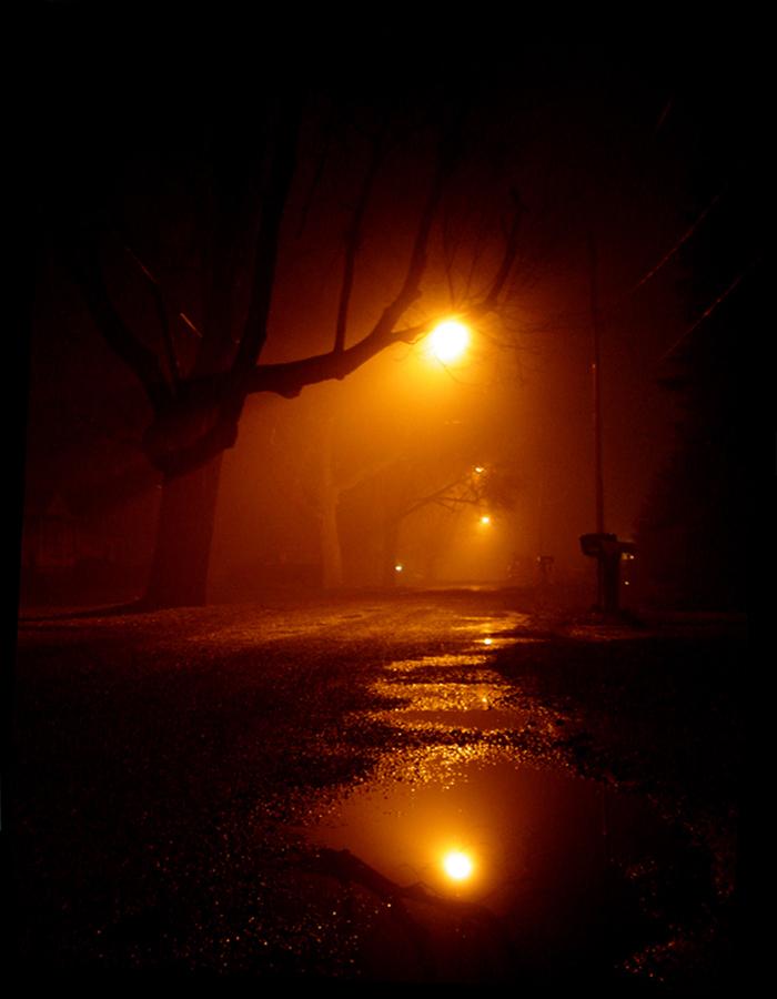 Street Light Halo by JosephAngelo
