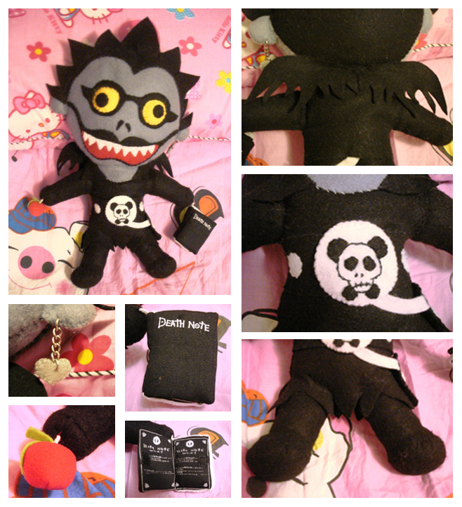 Ryuk Plush by shmalice