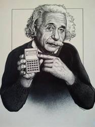 Albert Einstein by casey62