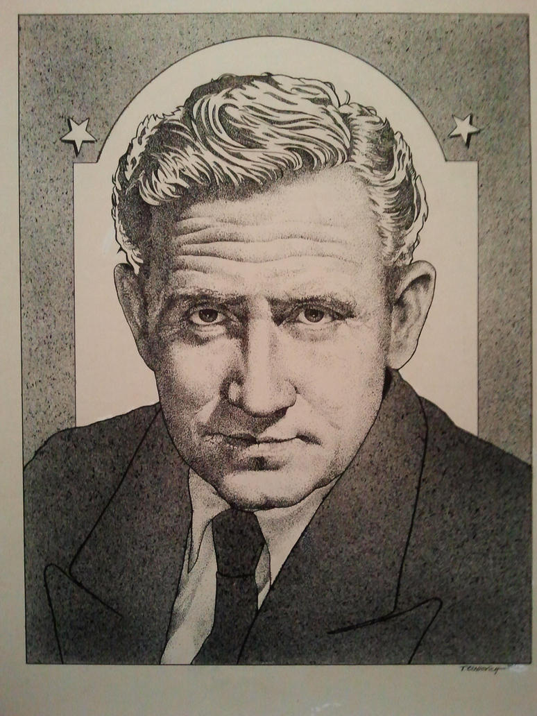 Spencer Tracy by casey62