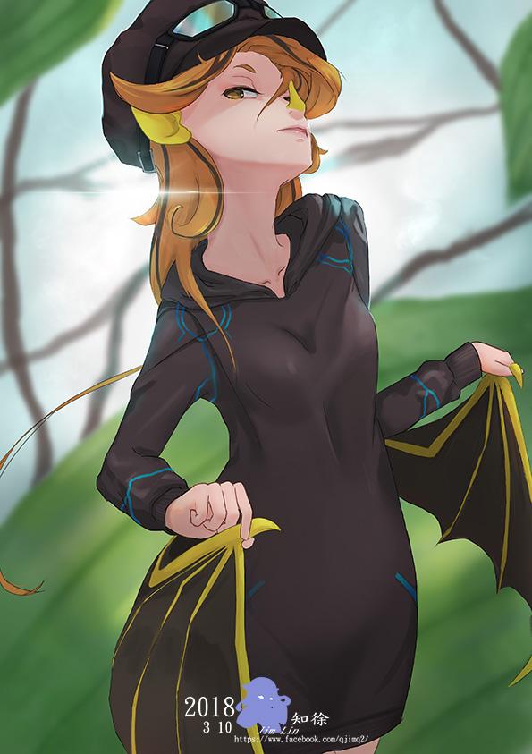 bat Humanoid by LinJim
