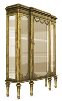 UNRESTRICTED - Antique Display Cabinet Render by frozenstocks
