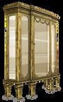 UNRESTRICTED - Antique Display Cabinet Render
