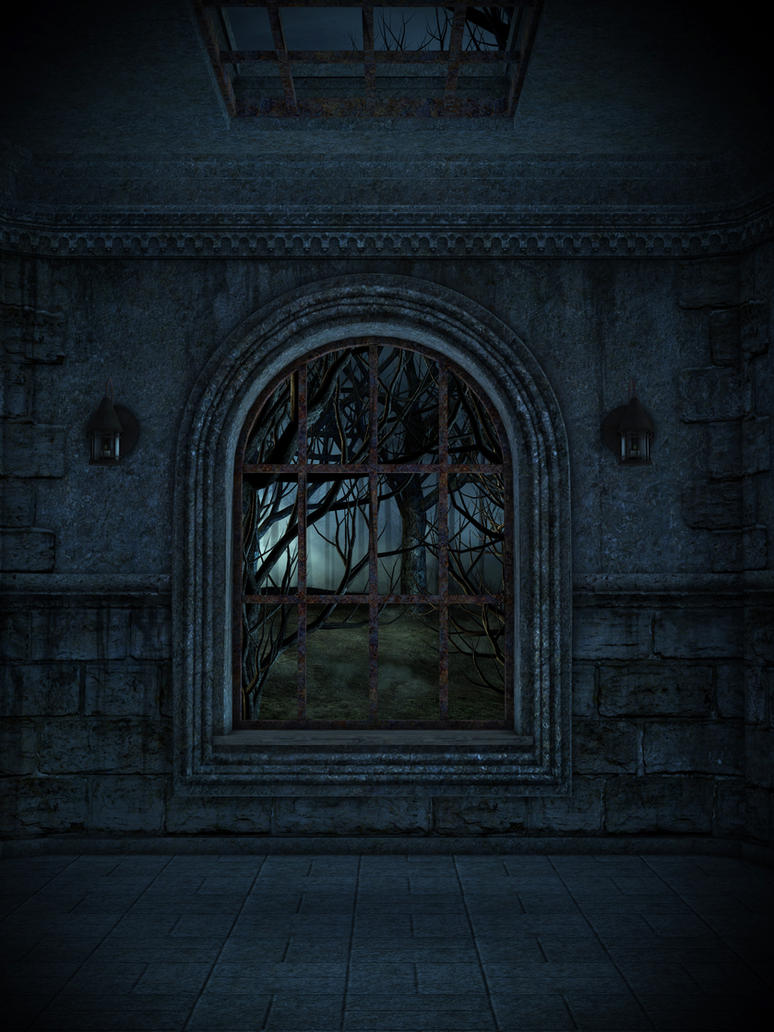 UNRESTRICTED - Dungeon Window Premade by frozenstocks