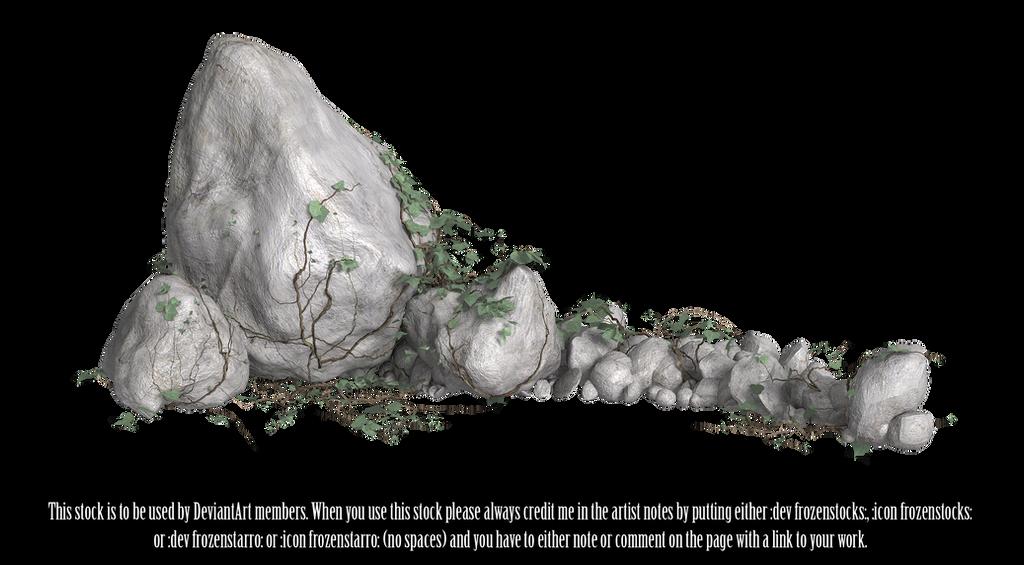 RESTRICTED - Rocks and Vines Render 2