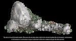 RESTRICTED - Rocks and Vines Render 2 by frozenstocks