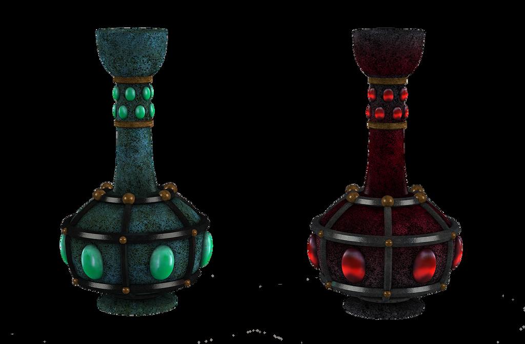 UNRESTRICTED - Fantasy flasks/bottles