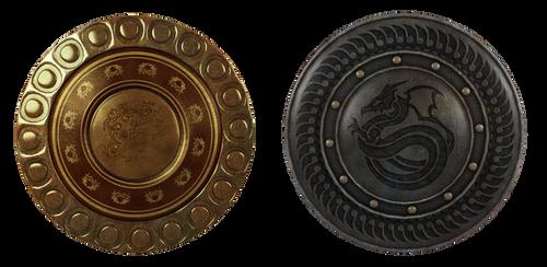 UNRESTRICTED - Fantasy shields by frozenstocks