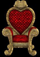 UNRESTRICTED - Queen of Hearts Throne Render 01 by frozenstocks