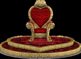 UNRESTRICTED - Queen of Hearts Throne Render 03 by frozenstocks