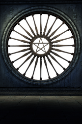 UNRESTRICTED - Gothic Window Scene PNG by frozenstocks