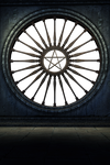 UNRESTRICTED - Gothic Window Scene PNG