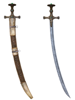 UNRESTRICTED - Sword with Scabbard