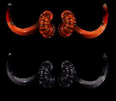 UNRESTRICTED - Demon Horns  Render by frozenstocks