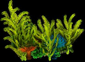 UNRESTRICTED - Underwater Plants  Render