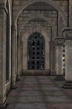 UNRESTRICTED - Archways Hall Scene II by frozenstocks