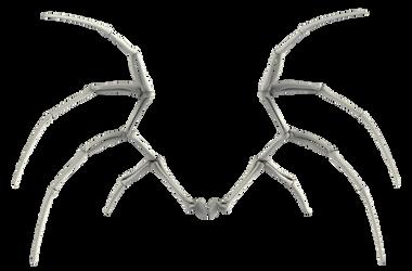 UNRESTRICTED - Bone Wings 02 by frozenstocks