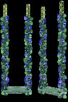 UNRESTRICTED - Blue Flowers Swing by frozenstocks