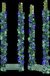 UNRESTRICTED - Blue Flowers Swing