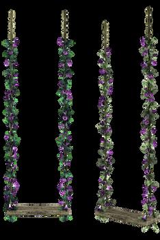 UNRESTRICTED - Purple Flowers Swing