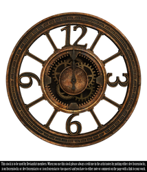 RESTRICTED - Steampunk Clock II Render