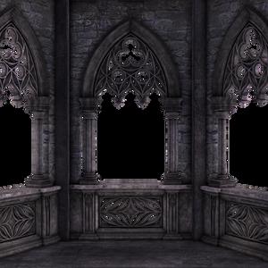 RESTRICTED - Dark Gothic Balcony 01