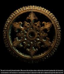 RESTRICTED - Steampunk Cog Render