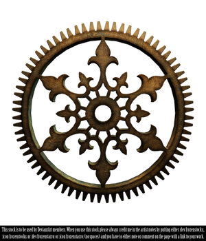 RESTRICTED - Steampunk Cog Render
