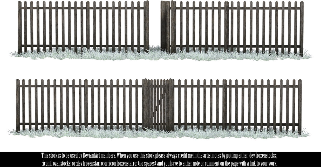 RESTRICTED - Winter Fence by frozenstocks
