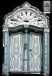 UNRESTRICTED - Blue Ornate Door