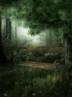 UNRESTRICTED - Forest Bench BG2 by frozenstocks