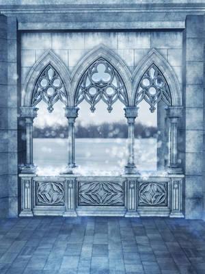 UNRESTRICTED - Winter Balcony Background by frozenstocks