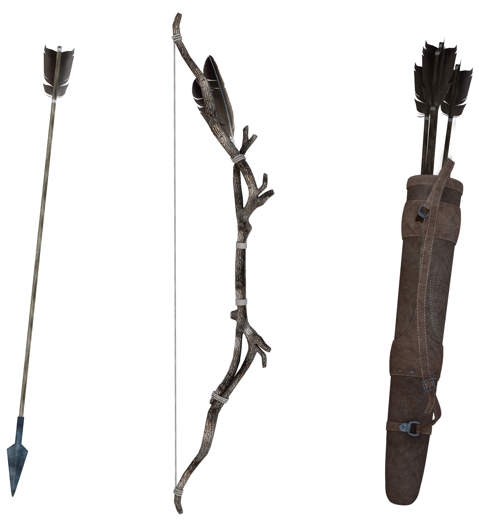 UNRESTRICTED - Forest Archer Gear by frozenstocks