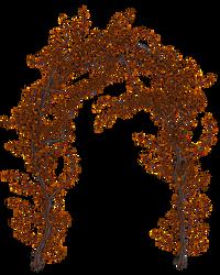 UNRESTRICTED - Autumn Vines Archway