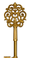 UNRESTRICTED - Golden Ornate Key