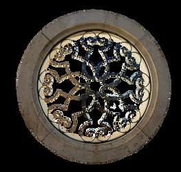 RESTRICTED - Round Stone Window