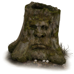 RESTRICTED - Old Tree Stump