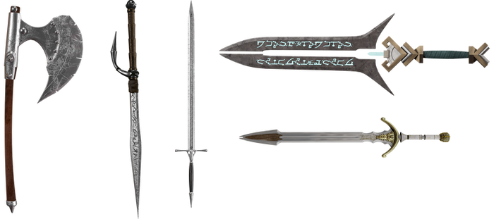 UNRESTRICTED - Fantasy Weapons