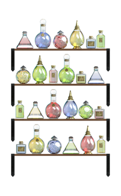 UNRESTRICTED - Potions Rack