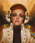 Joan of Steampunk by JVanHulle